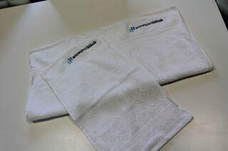 Logoga rätikud
