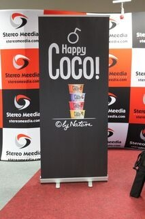 Roll up reklaam Happy Coco
