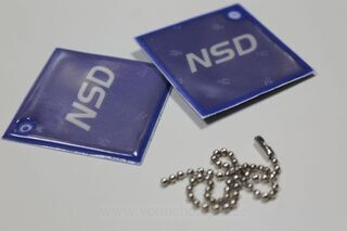 Reflector with print NSD