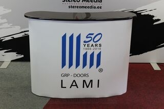 GRP-Doors advertising table